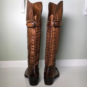 Vince Camuto Over the Knee Stud Back Boots